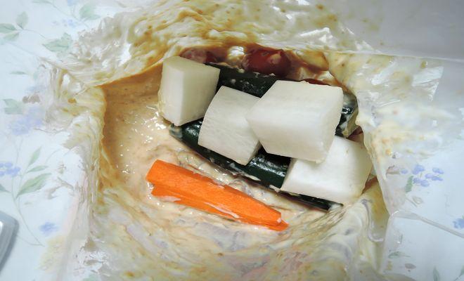 野菜とヨーグルト味噌