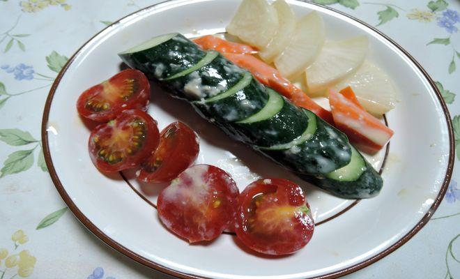 野菜のヨーグルト味噌漬け